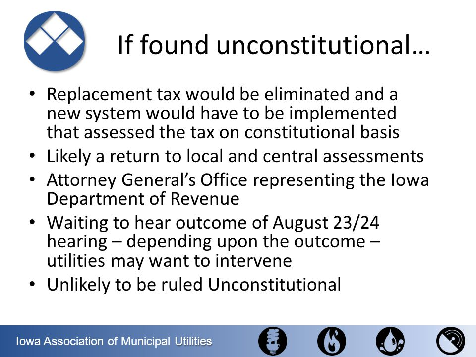 If found unconstitutional…