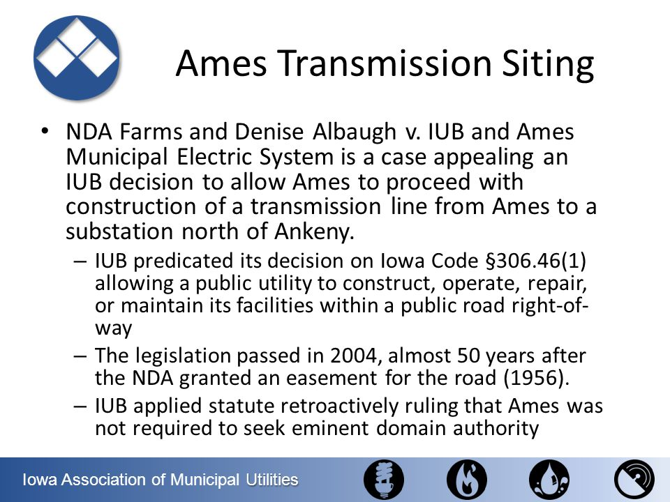 Ames Transmission Siting