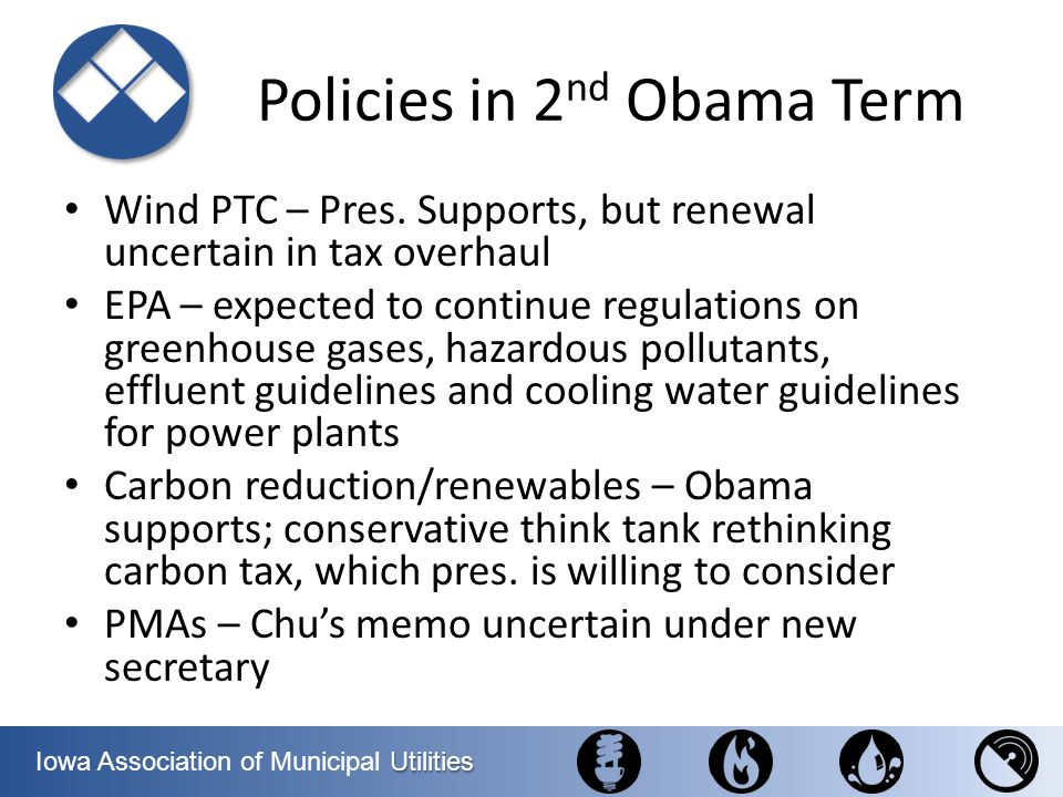Policies in 2nd Obama Term