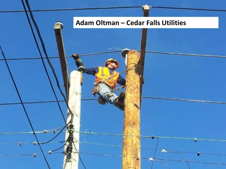 Adam Oltman – Cedar Falls Utilities