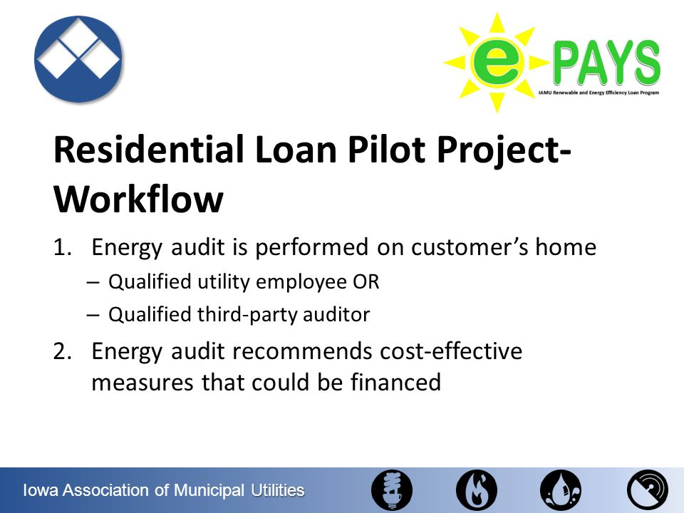 Residential Loan Pilot Project-Workflow