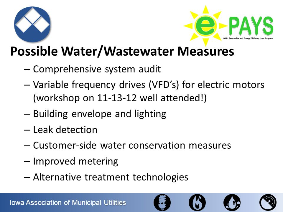Possible Water/Wastewater Measures