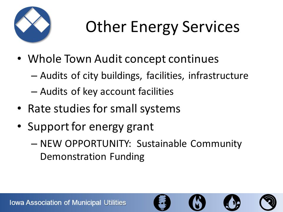 Other Energy Services Whole Town Audit concept continues