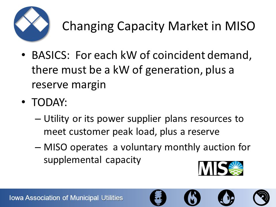 Changing Capacity Market in MISO