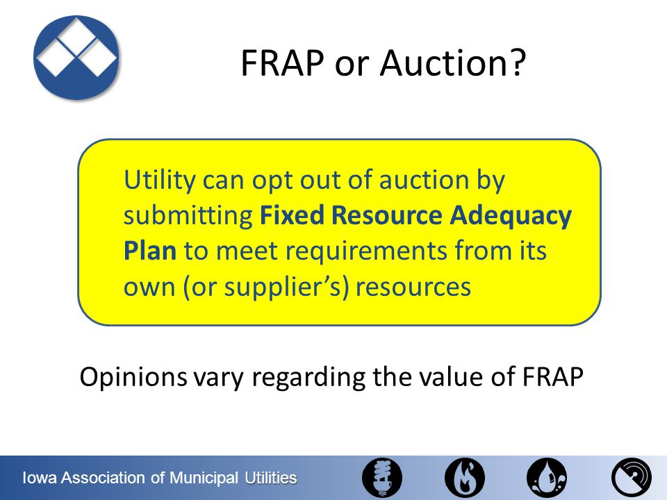 FRAP or Auction