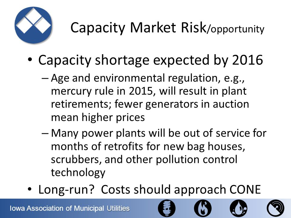 Capacity Market Risk/opportunity
