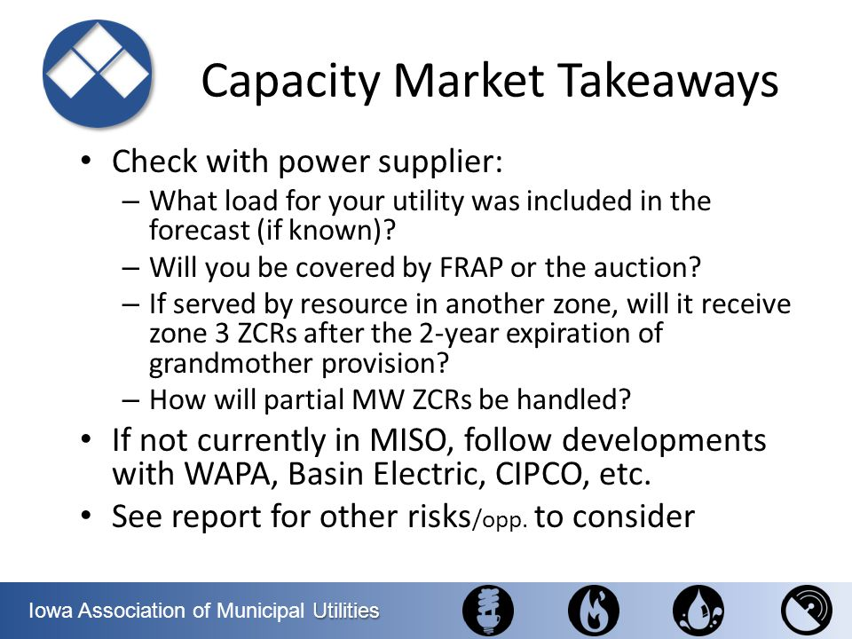 Capacity Market Takeaways