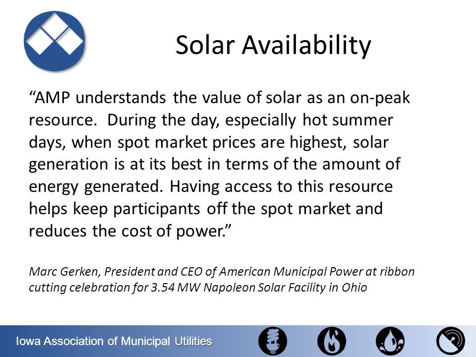 Solar Availability