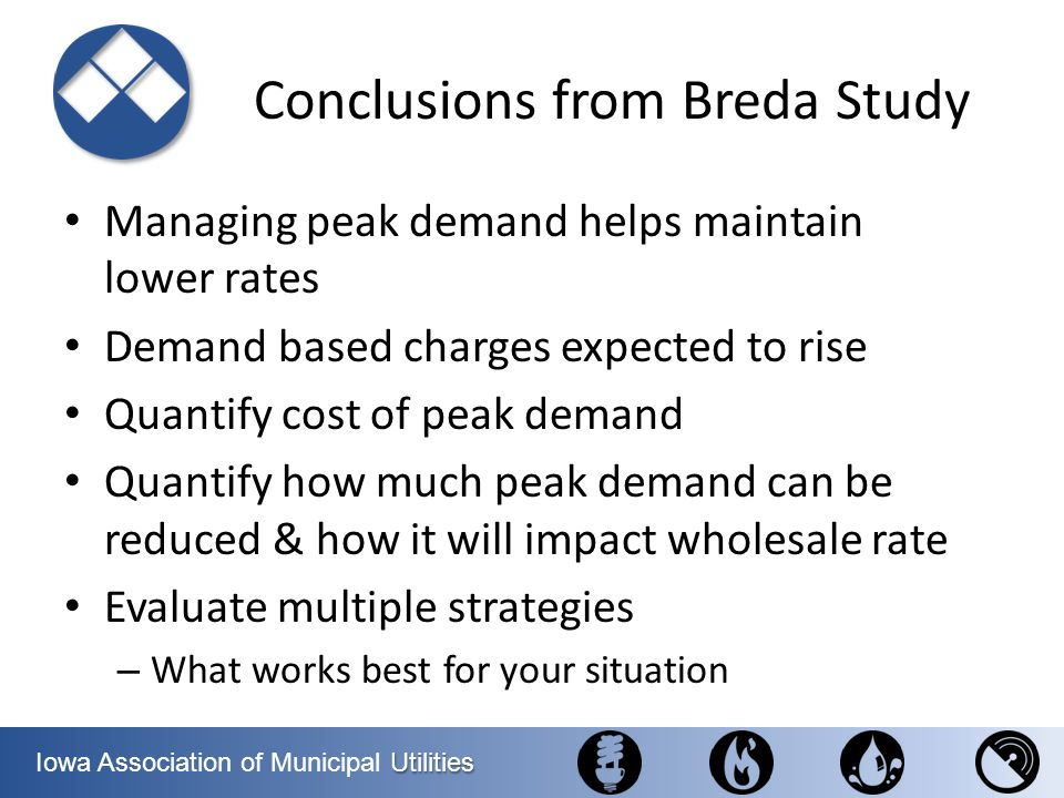 Conclusions from Breda Study
