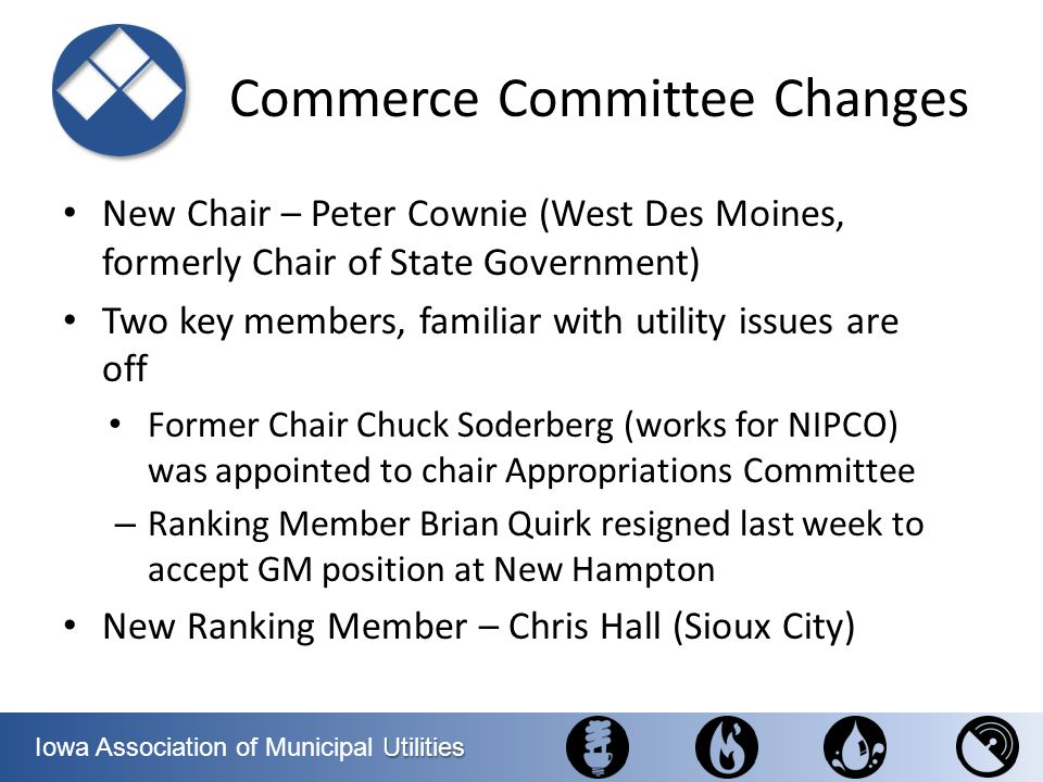 Commerce Committee Changes