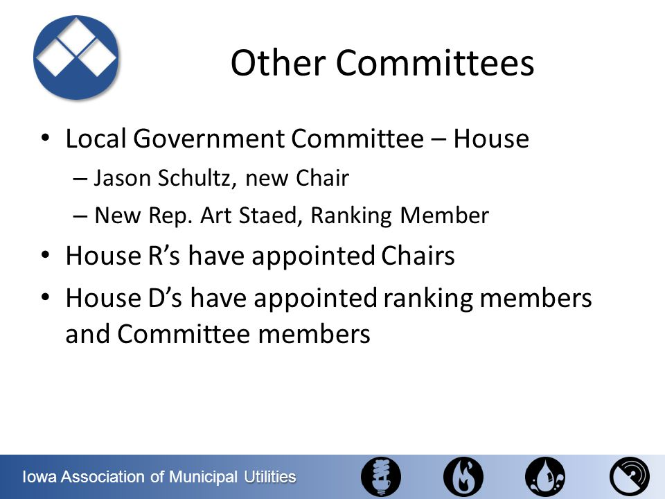 Other Committees Local Government Committee – House