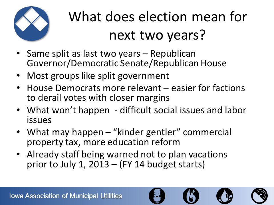 What does election mean for next two years