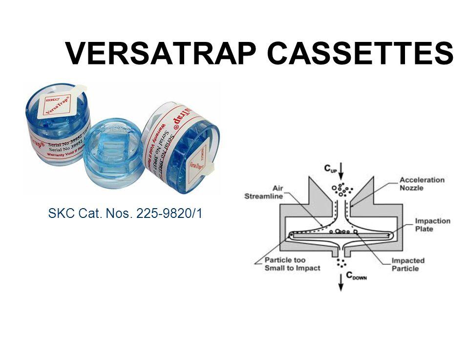 VERSATRAP CASSETTES SKC Cat. Nos. 225-9820/1