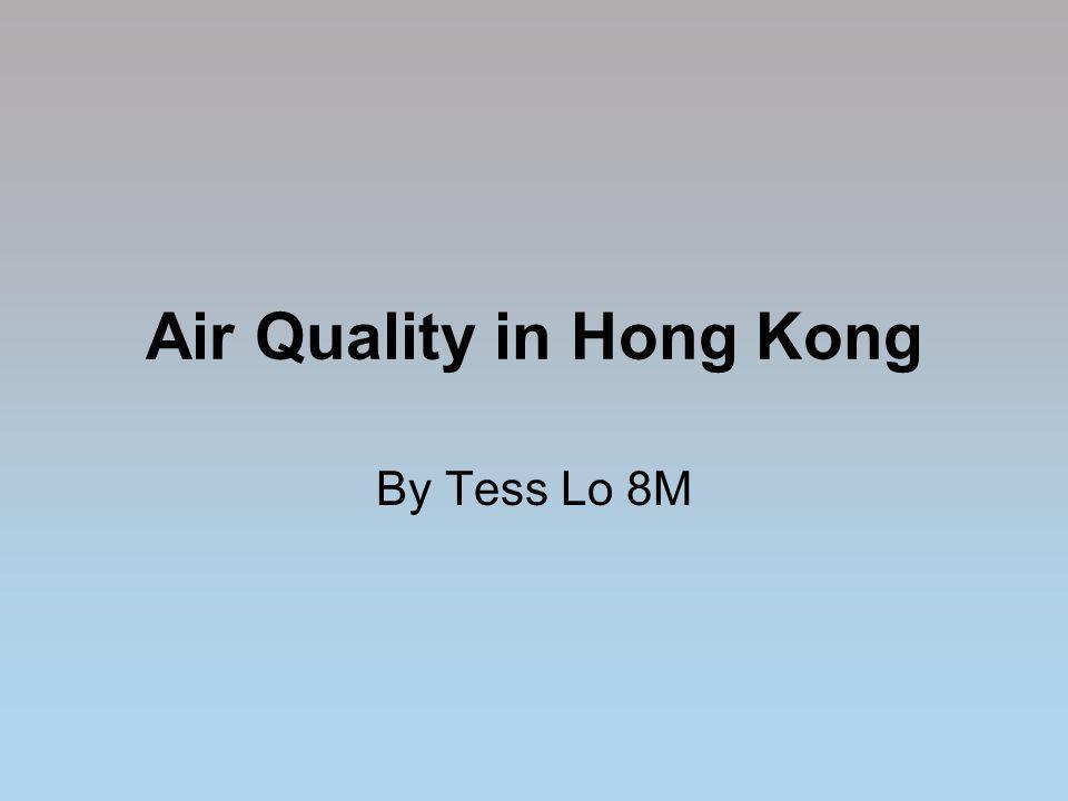 Air Quality in Hong Kong