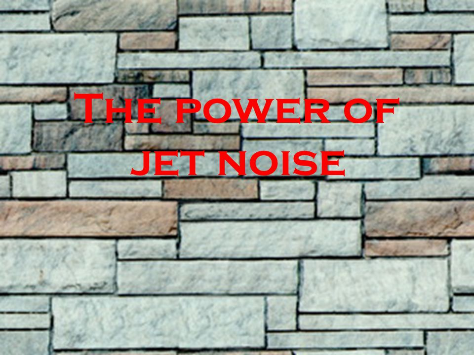 The power of jet noise