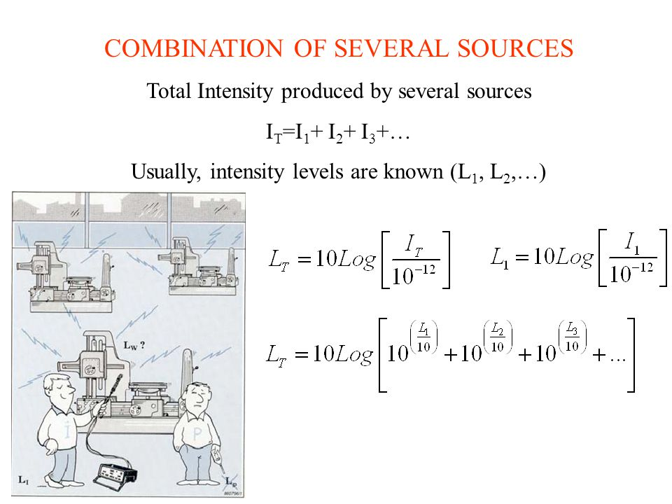 COMBINATION OF SEVERAL SOURCES
