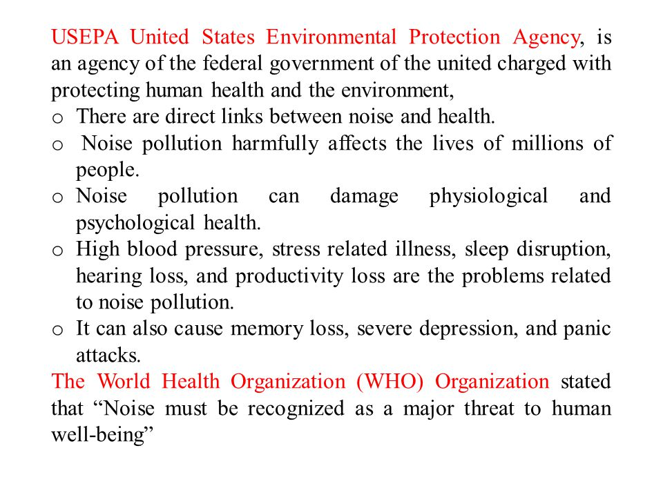 USEPA United States Environmental Protection Agency, is an agency of the federal government of the united charged with protecting human health and the environment,