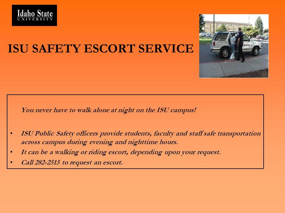 ISU SAFETY ESCORT SERVICE