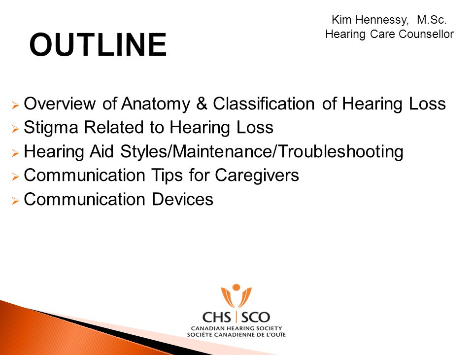 Hearing Care Counsellor