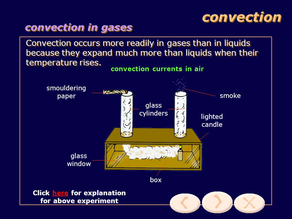 convection convection in gases