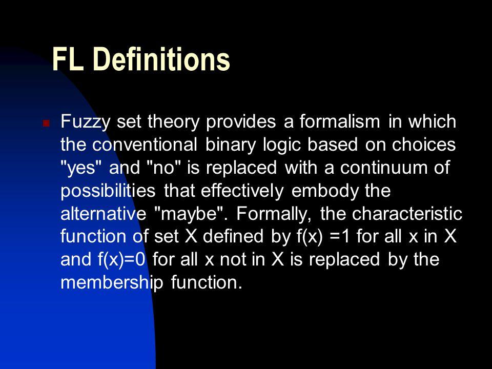 FL Definitions