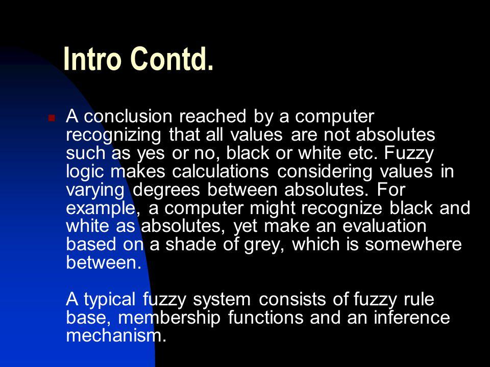 Intro Contd.