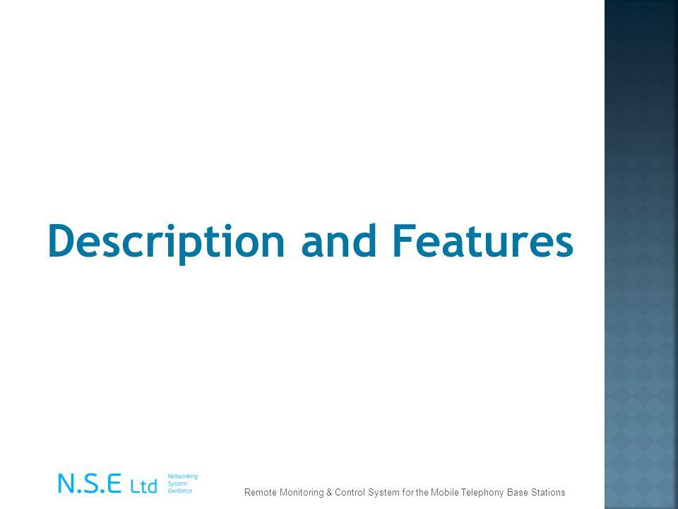 Description and Features