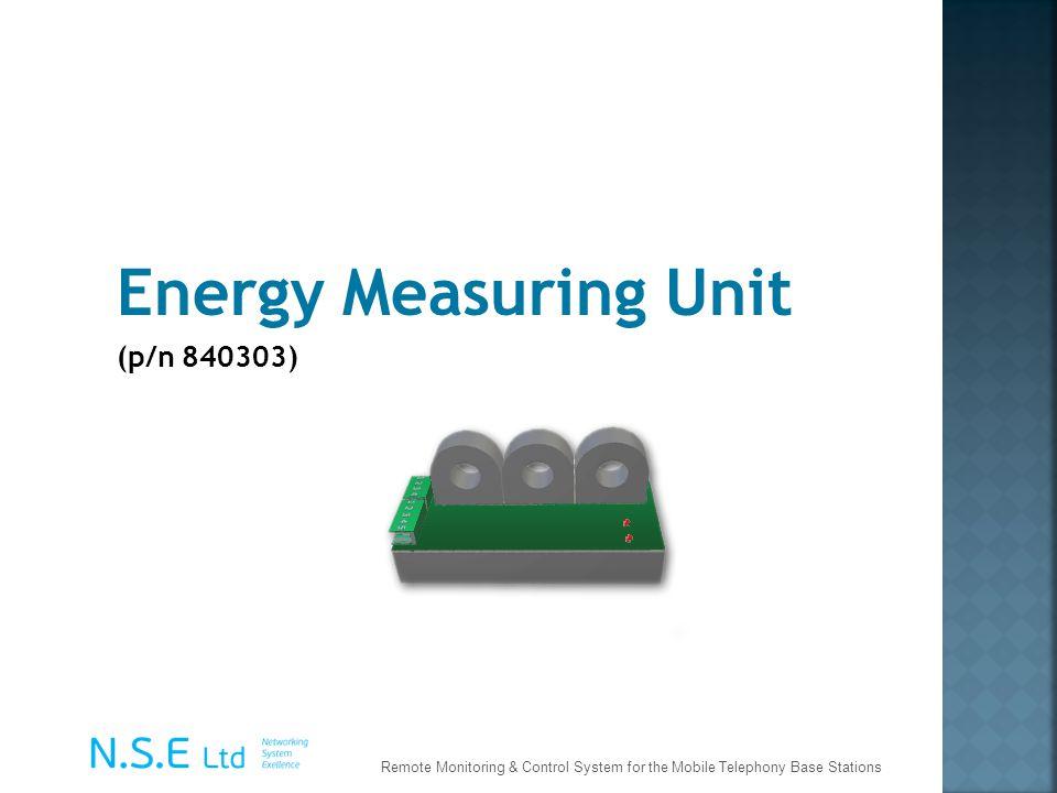 Energy Measuring Unit (p/n 840303)