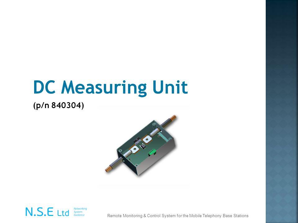 DC Measuring Unit (p/n 840304)