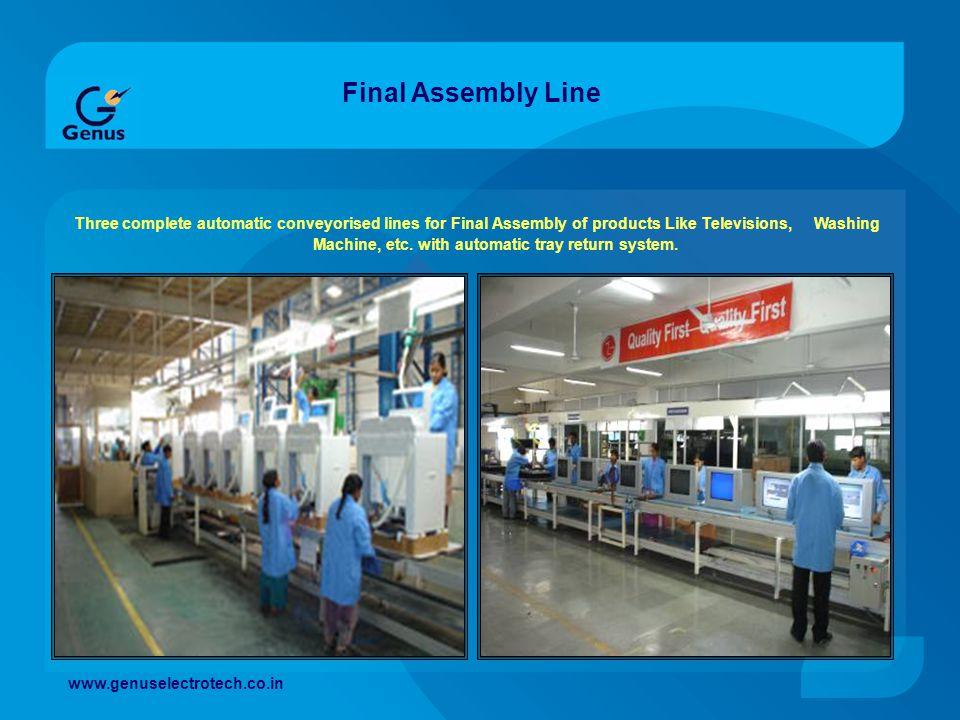 Final Assembly Line