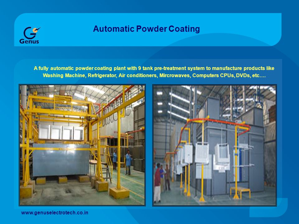 Automatic Powder Coating