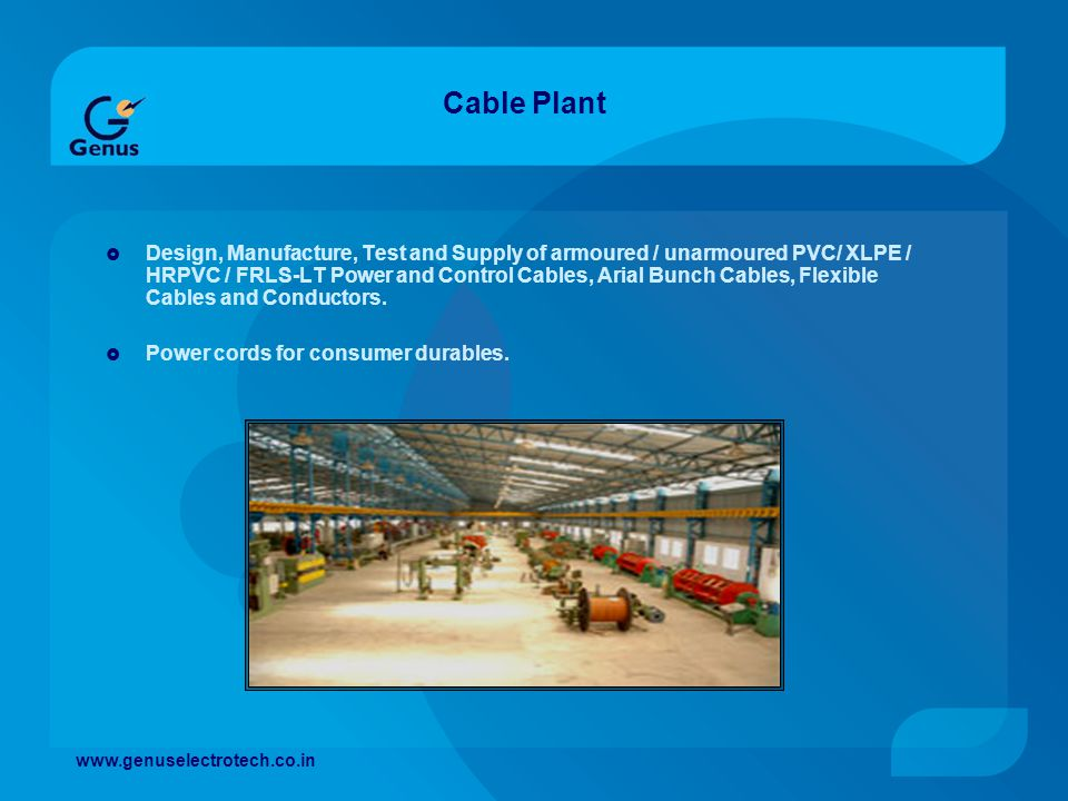 Cable Plant
