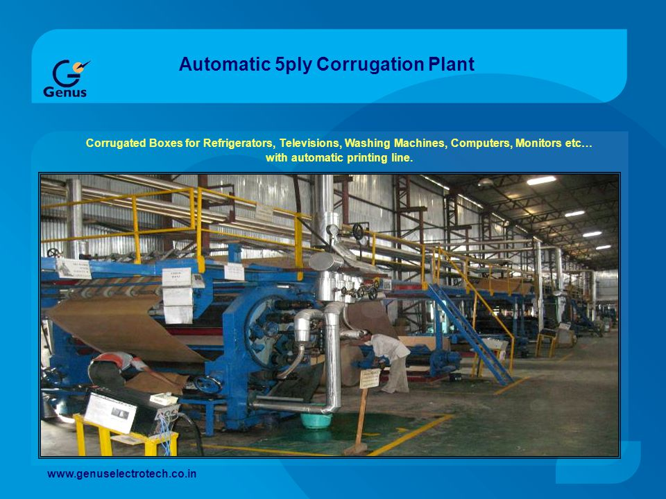 Automatic 5ply Corrugation Plant
