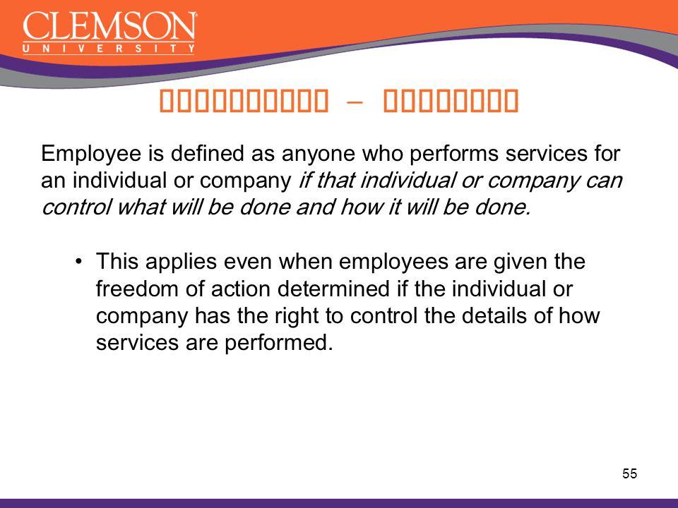 Compliance - Employee