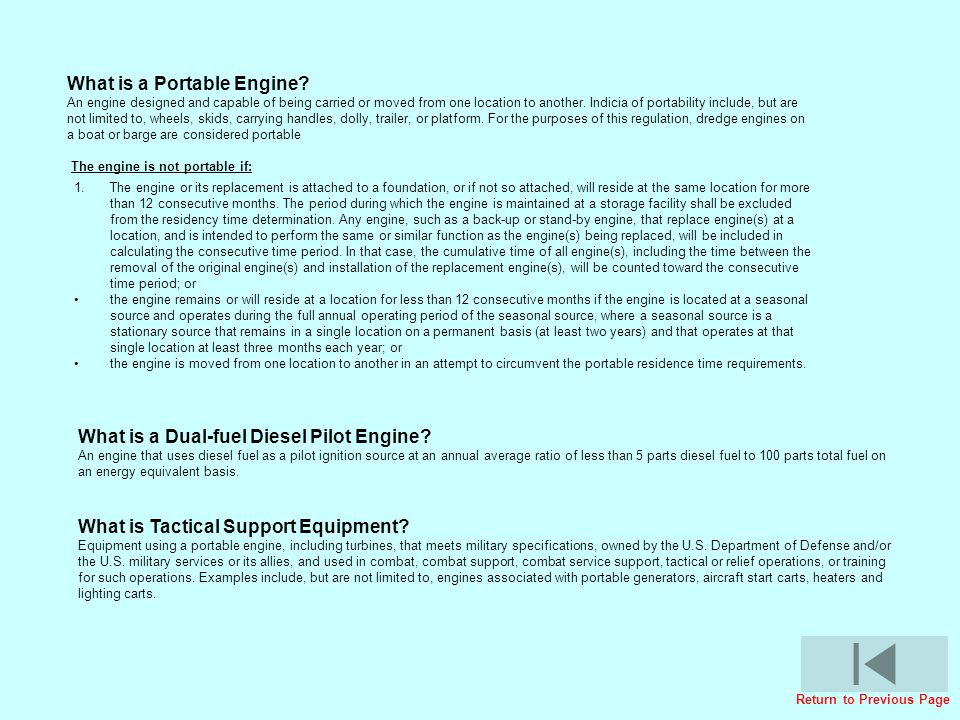 What is a Portable Engine