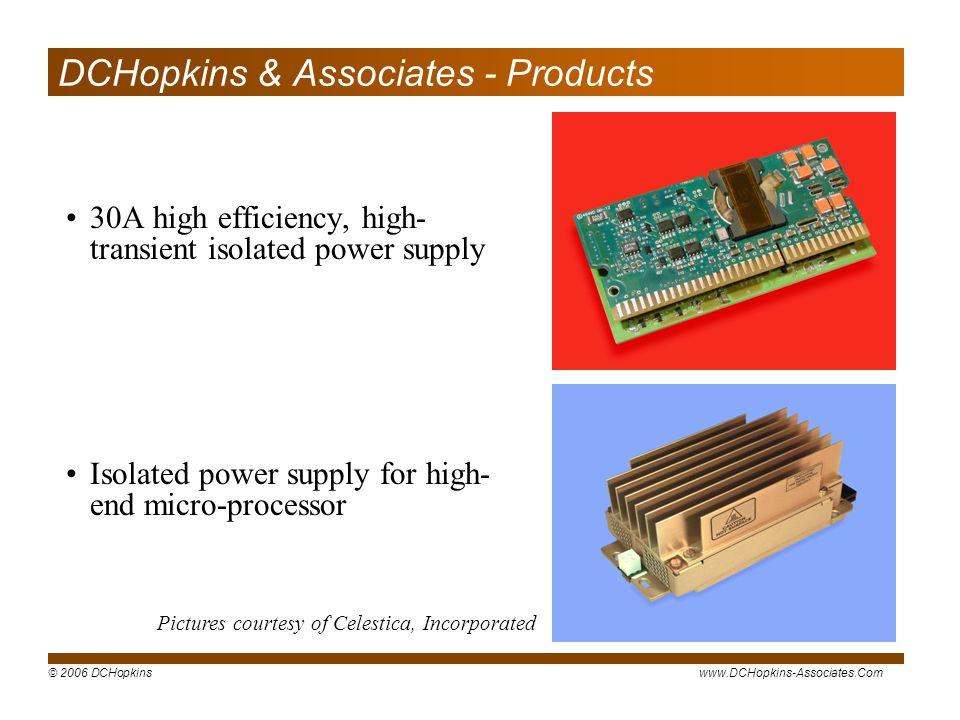 DCHopkins & Associates - Products