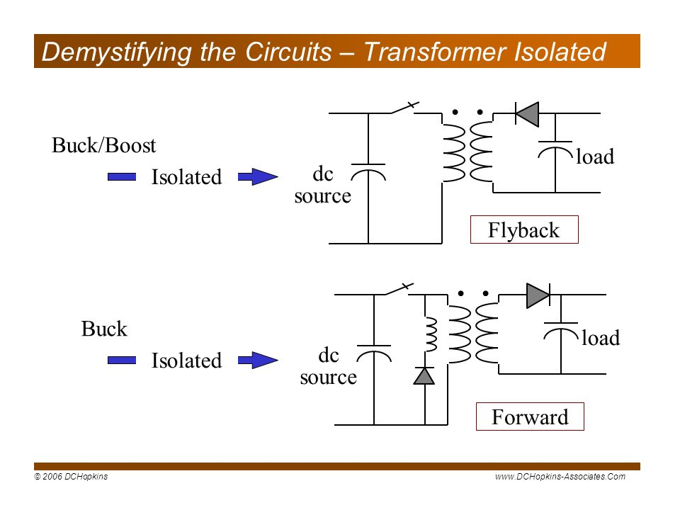 Demystifying the Circuits – Transformer Isolated