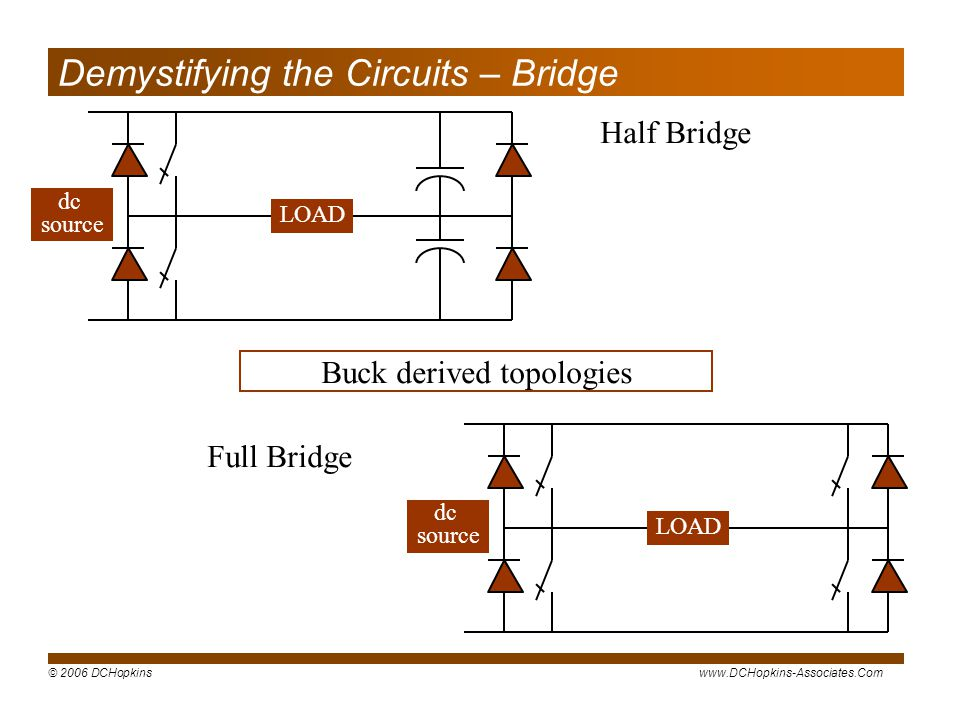 Demystifying the Circuits – Bridge