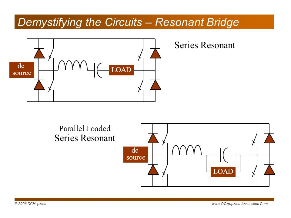 Demystifying the Circuits – Resonant Bridge