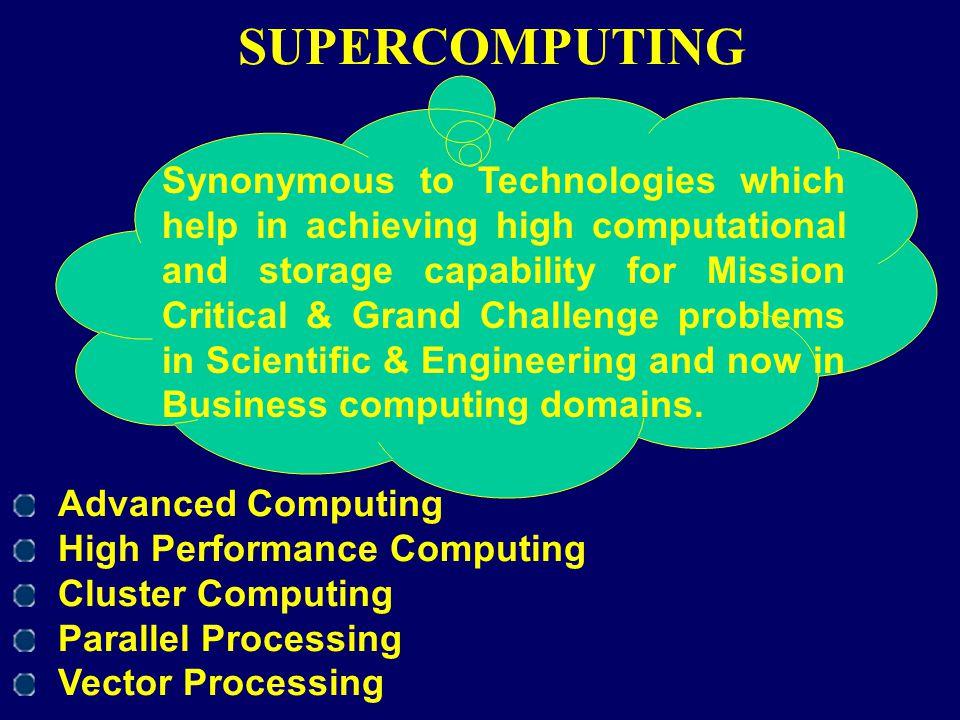 SUPERCOMPUTING