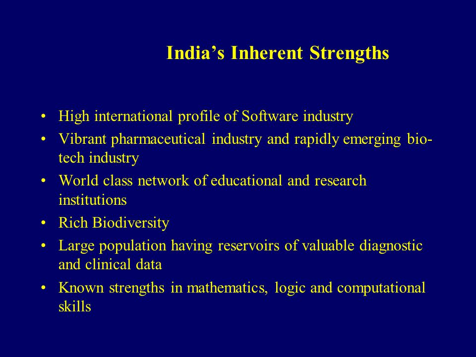 India's Inherent Strengths