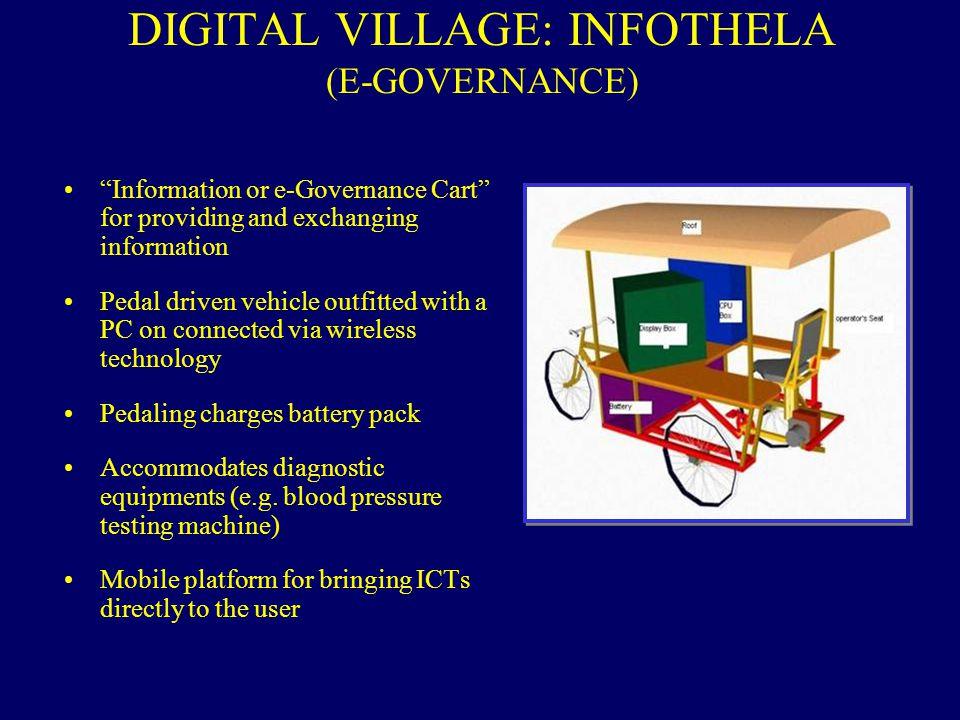 DIGITAL VILLAGE: INFOTHELA (E-GOVERNANCE)
