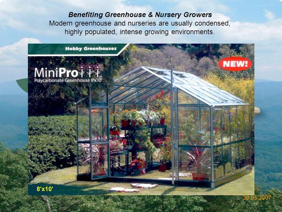 Benefiting Greenhouse & Nursery Growers