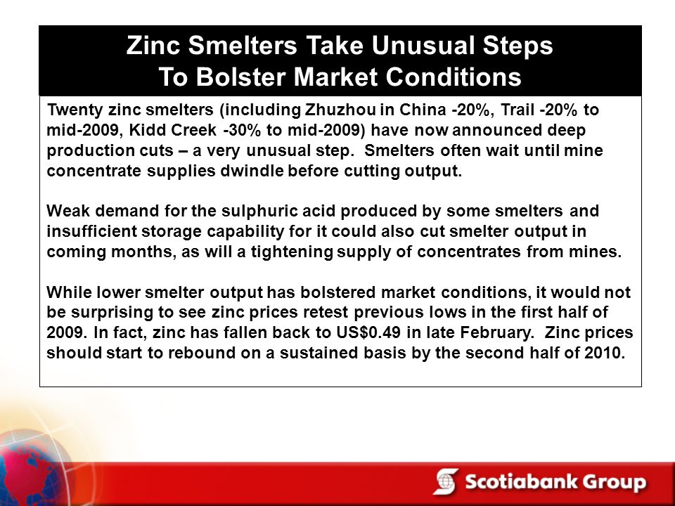 Zinc Smelters Take Unusual Steps To Bolster Market Conditions