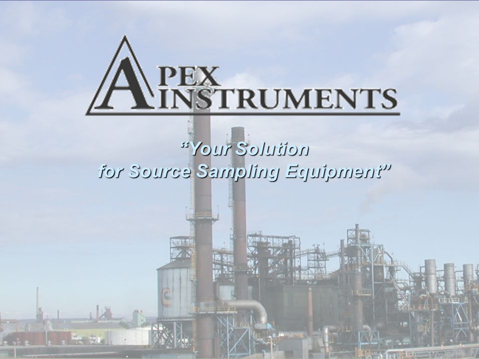 Your Solution for Source Sampling Equipment
