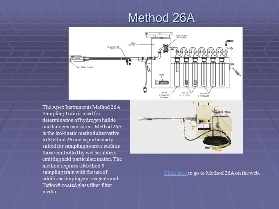 Click here to go to Method 26A on the web.