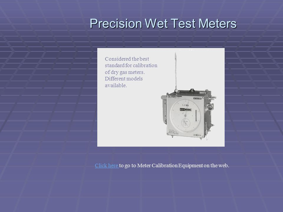 "Dry Gas Meter : ""your solution for source sampling equipment ppt download"