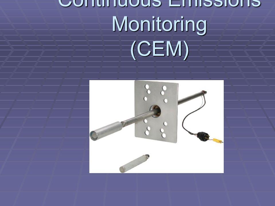 Continuous Emissions Monitoring (CEM)