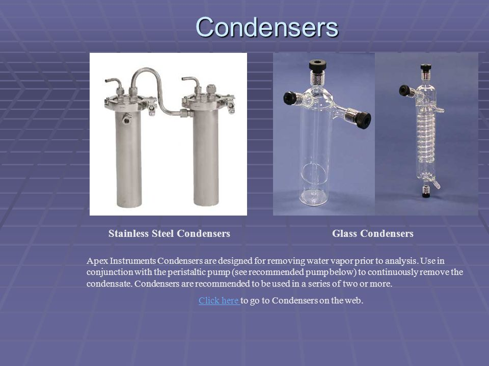 Stainless Steel Condensers