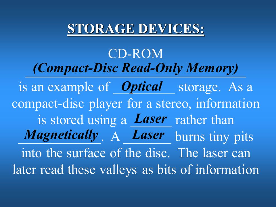 (Compact-Disc Read-Only Memory)